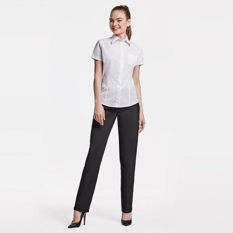 Camisas manga corta roly sofia de poliéster imagen 1