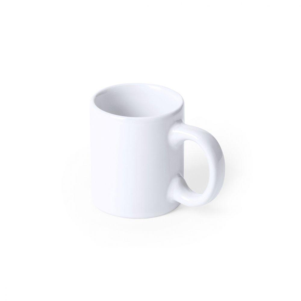 Taza clásica lutin de cerámica con publicidad vista 1