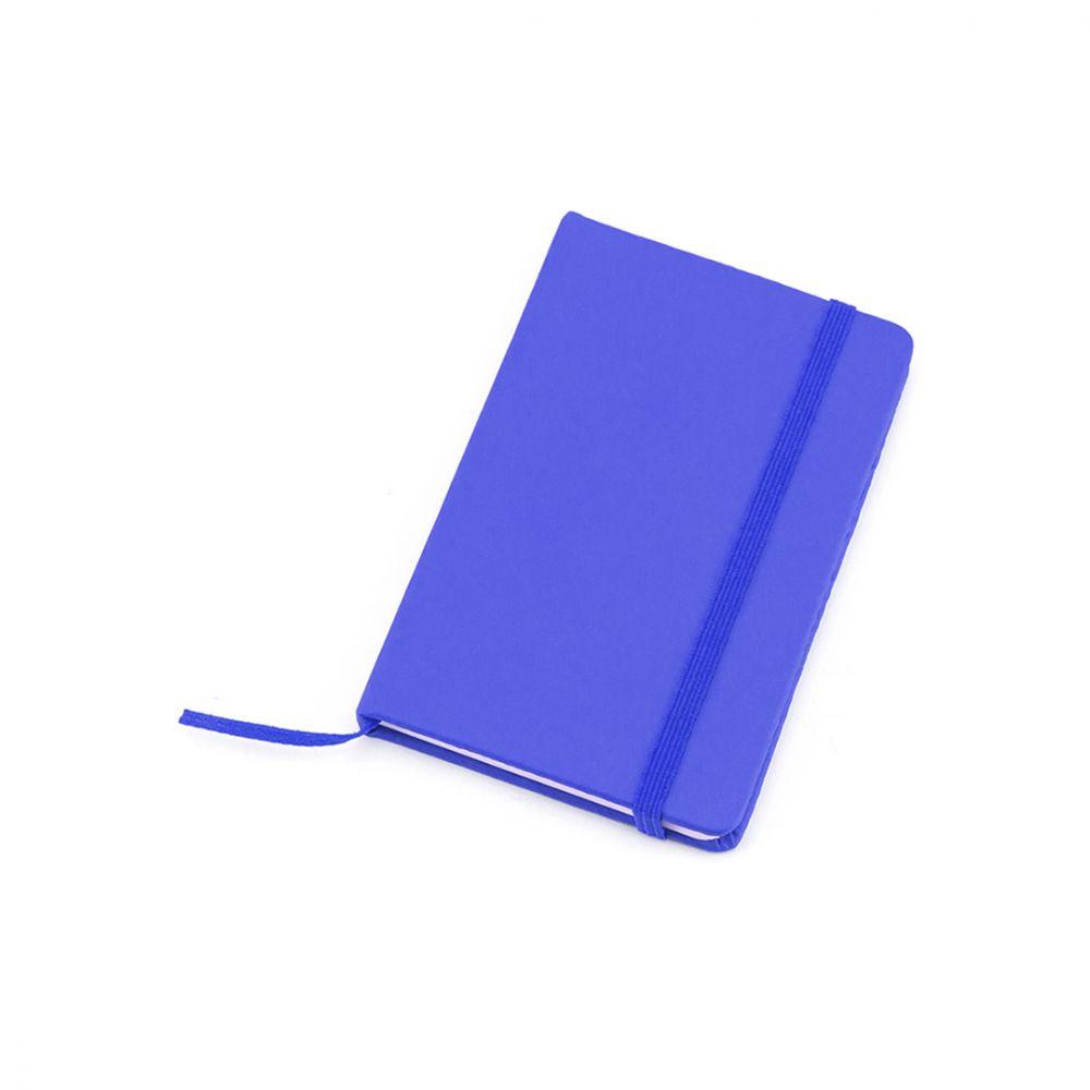 Libretas con banda elastica kinelin de polipiel con publicidad vista 1