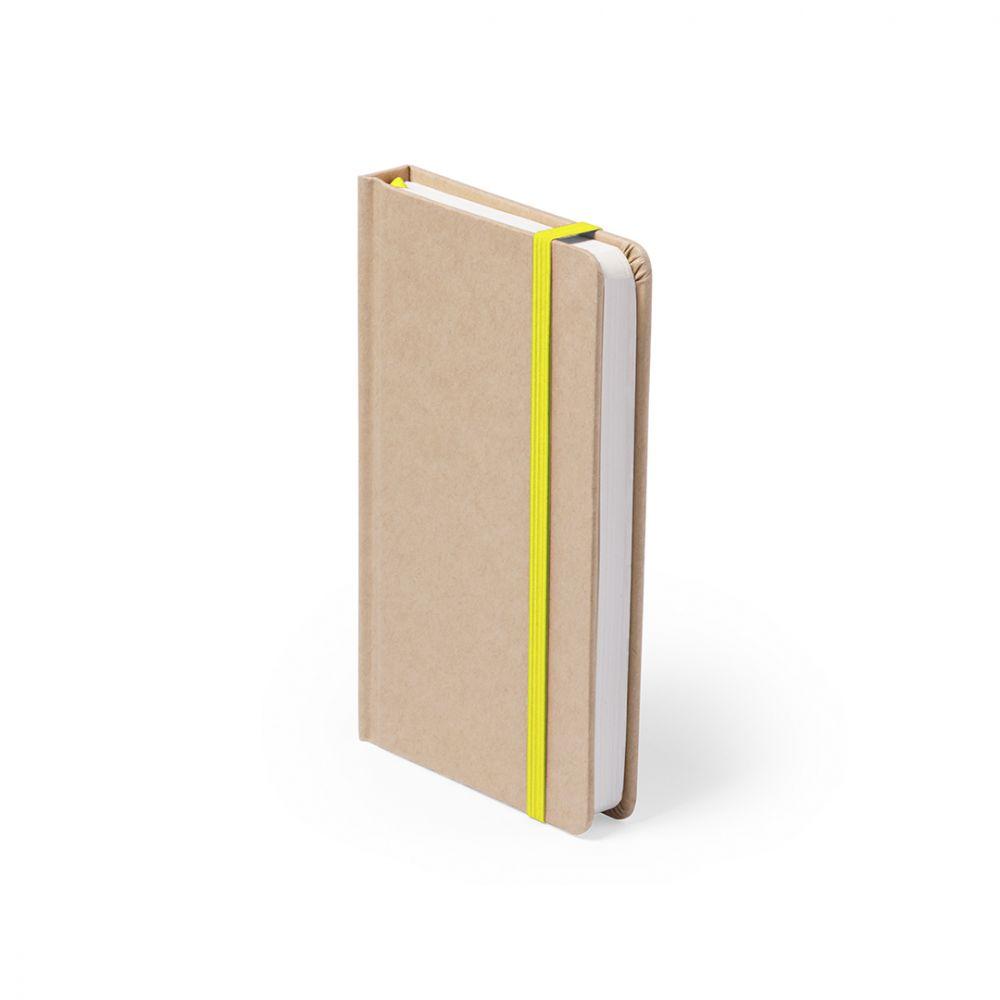 Libretas con banda elastica bosco de cartón ecológico para publicidad vista 3