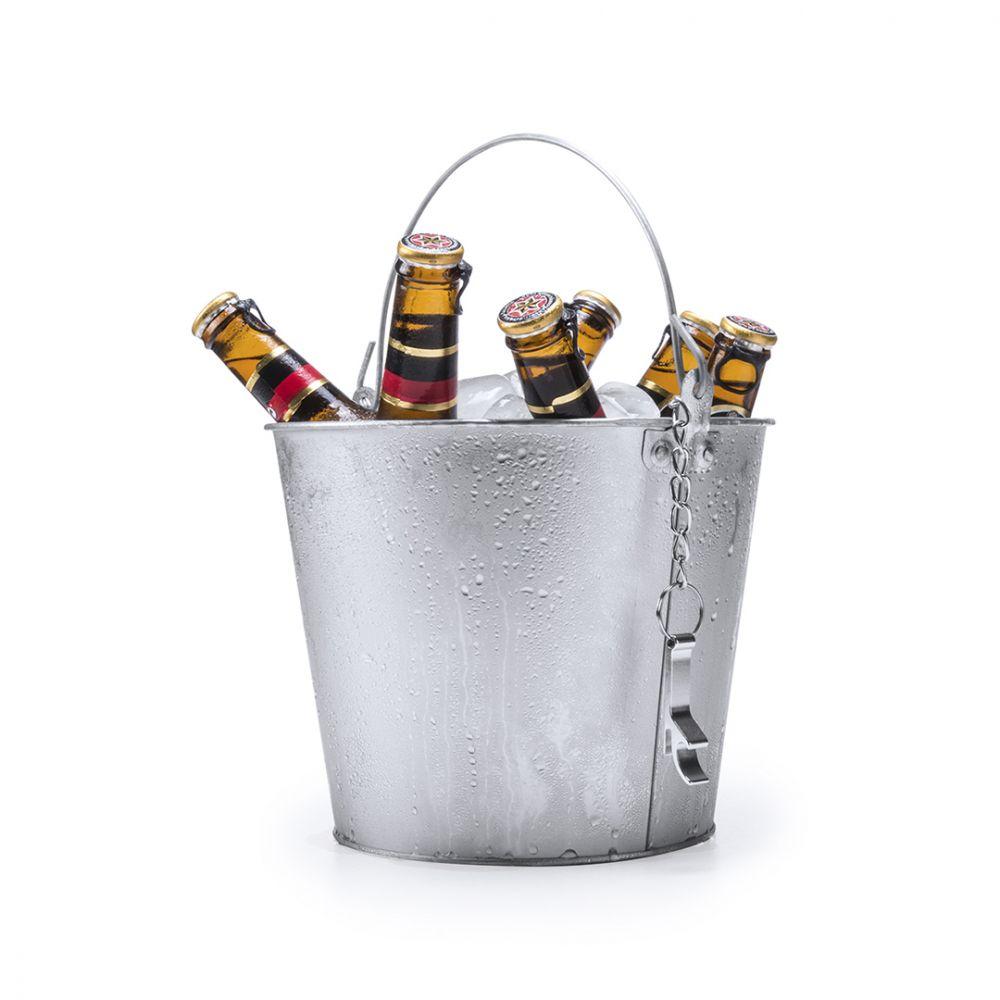 Enfriadores y cubiteras cubo blake de metal con impresión imagen 1