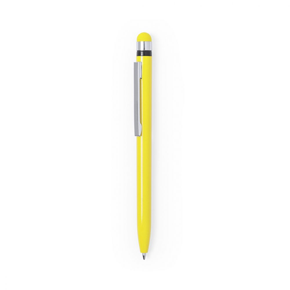 Bolígrafos puntero táctil haspor con logo vista 1