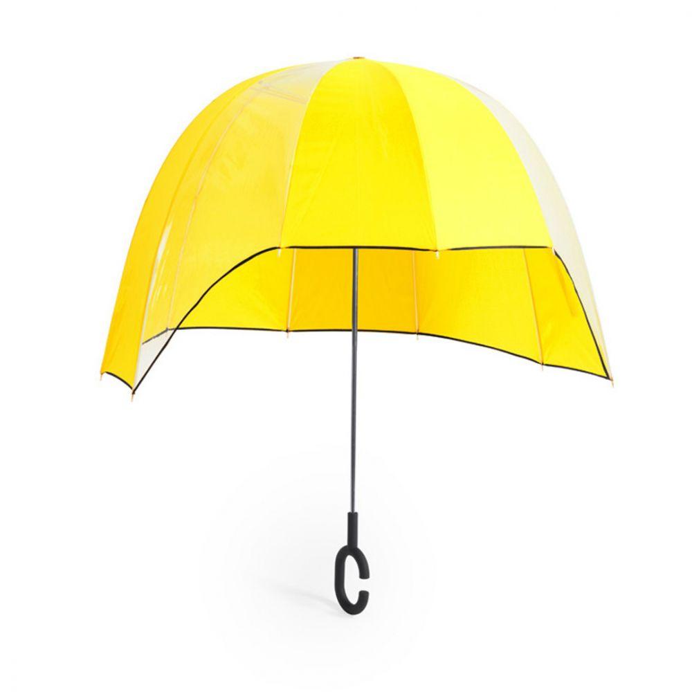 Paraguas clásicos babylon de plástico con impresión vista 1
