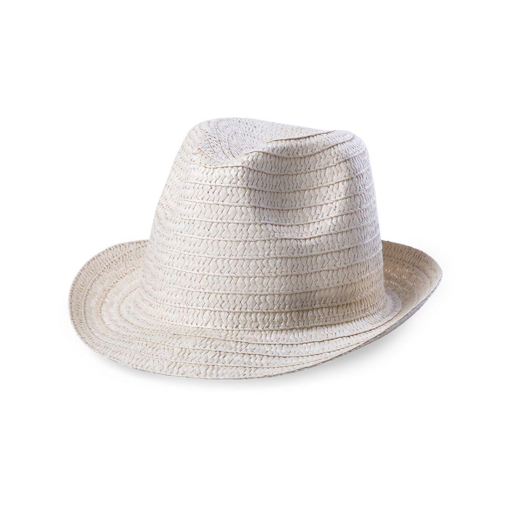 Sombreros licem de acrílico con publicidad vista 1
