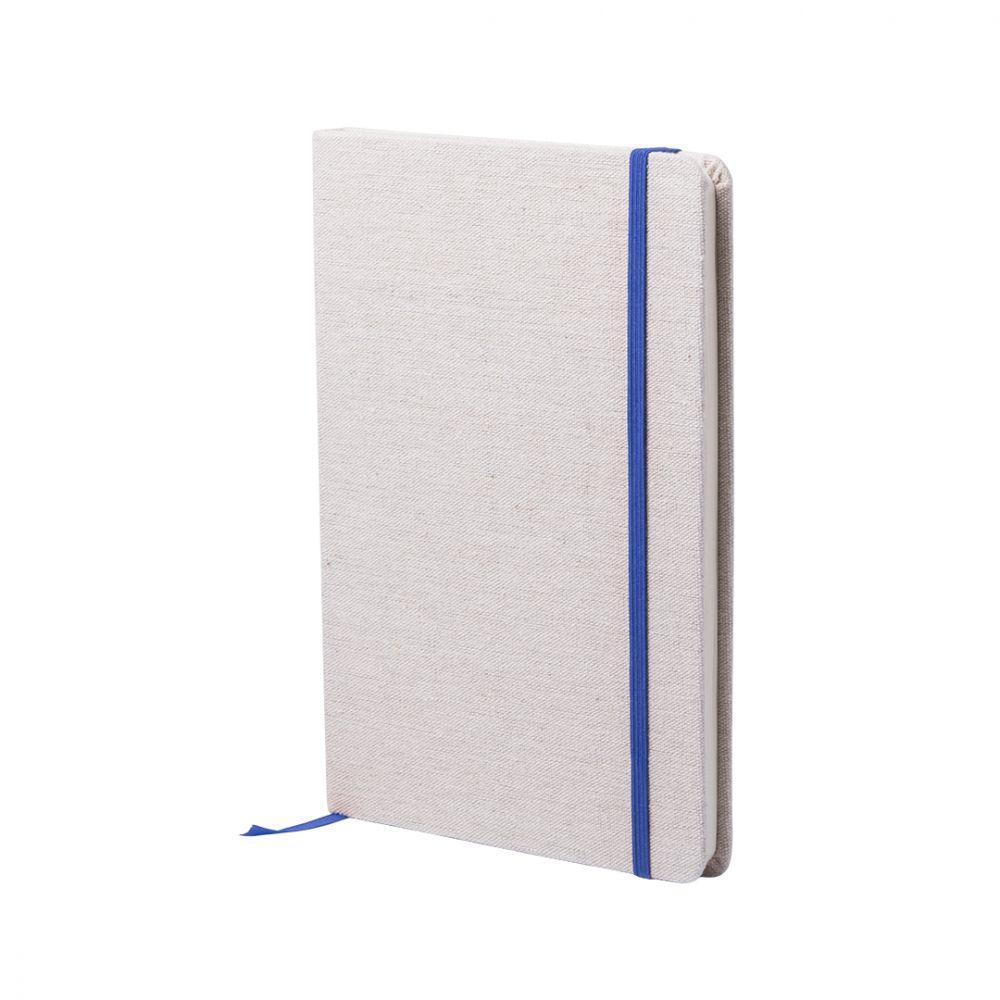 Libretas con banda elastica telmak de algodon para publicidad vista 2