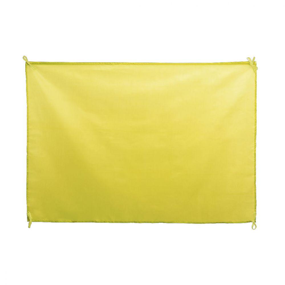 Banderas dambor de poliéster vista 1