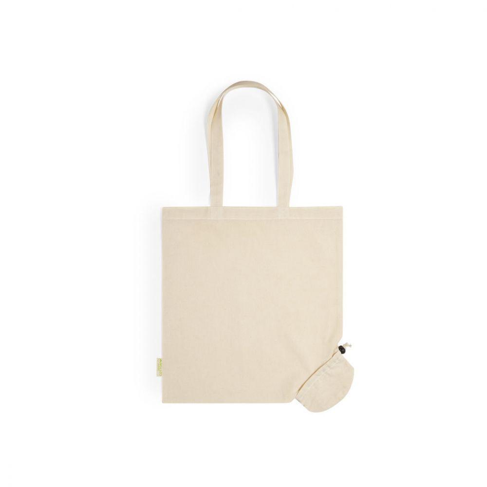 Bolsas plegables nepax de 100% algodón ecológico con publicidad vista 2
