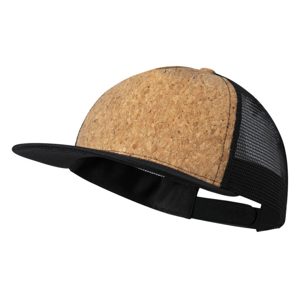 Gorras loriok de corcho ecológico para publicidad vista 1