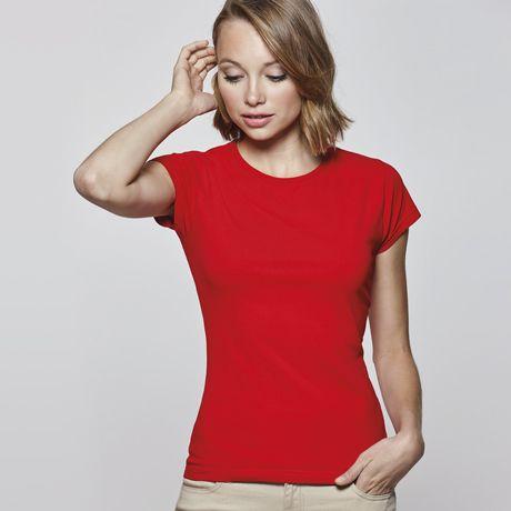 Camisetas manga corta roly bali mujer de algodon con impresión imagen 1