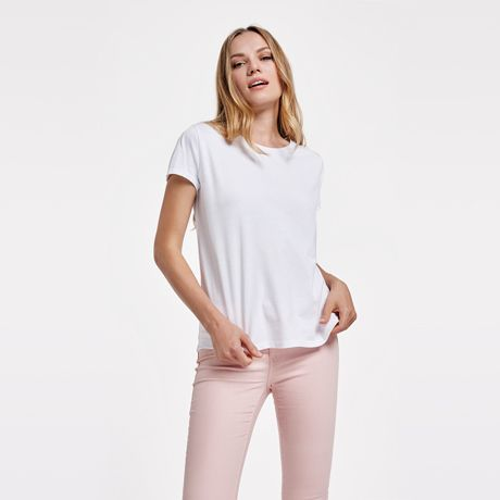 Camisetas manga corta roly cies de 100% algodón con logo vista 1