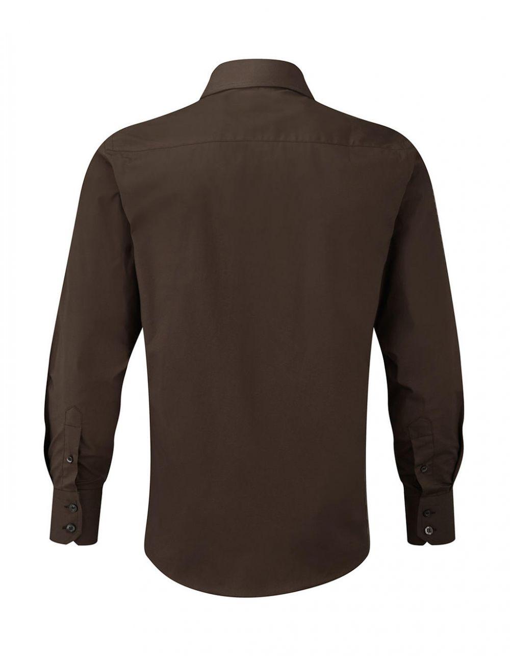 Camisa entallada manga larga hombre Russell Collection desde