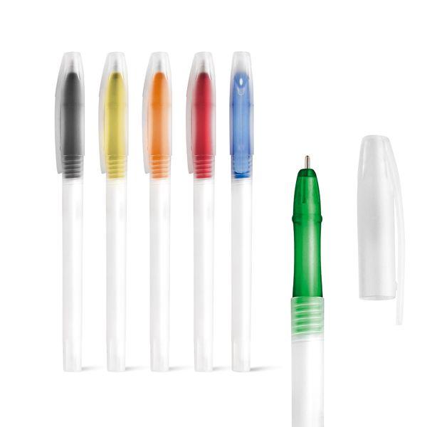 Bolígrafos básicos lucy de plástico con publicidad imagen 1