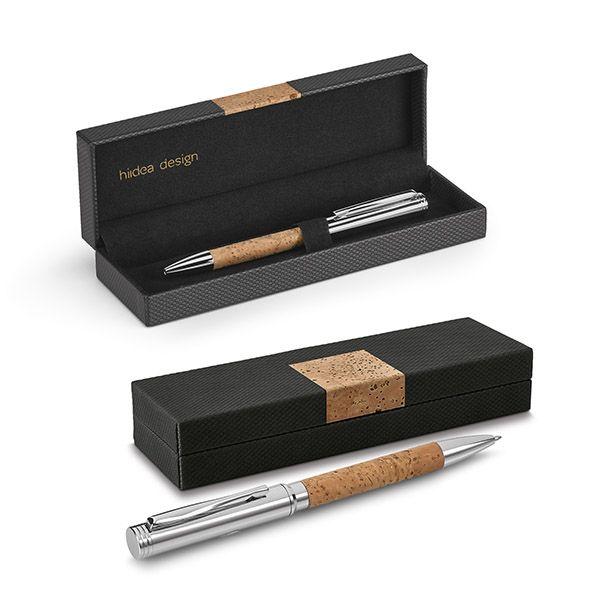 Bolígrafos de lujo cork plus de corcho con publicidad imagen 1