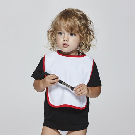 Roly roly ropa bebé dummy de algodon con logo vista 1