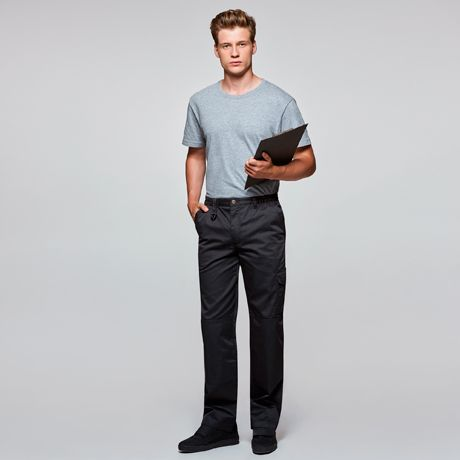 Pantalones de trabajo roly protect de poliéster vista 1