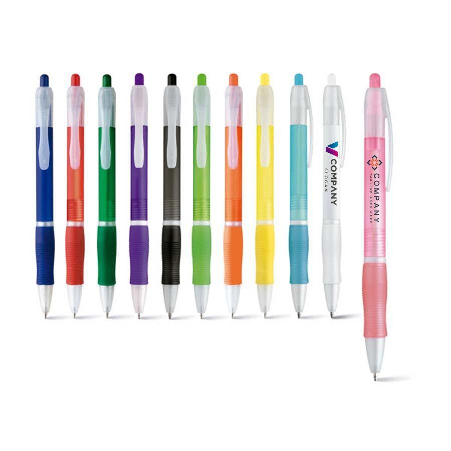 Bolígrafos básicos slim para personalizar vista 2