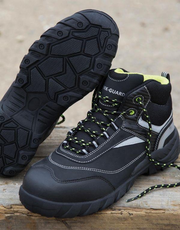 Calzado seguridad result botas de seguridad blackwatch con logo vista 1