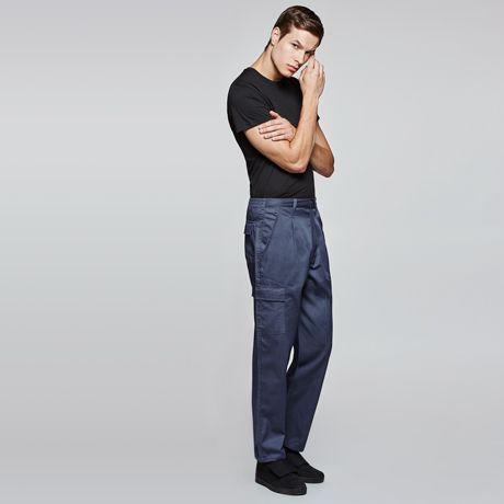Pantalones de trabajo roly daily next de algodon con impresión vista 1