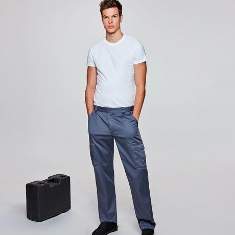 Pantalones de trabajo roly guardian de algodon con logotipo imagen 1
