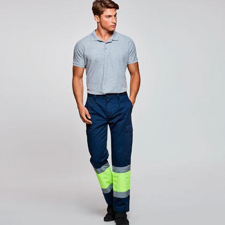 Pantalones reflectantes roly naos de algodon con logo imagen 1