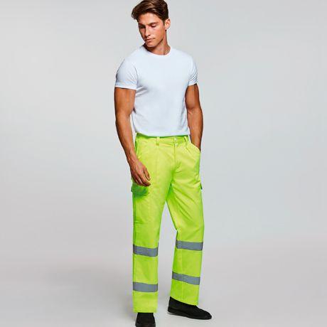 Pantalones reflectantes roly alfa de algodon vista 1
