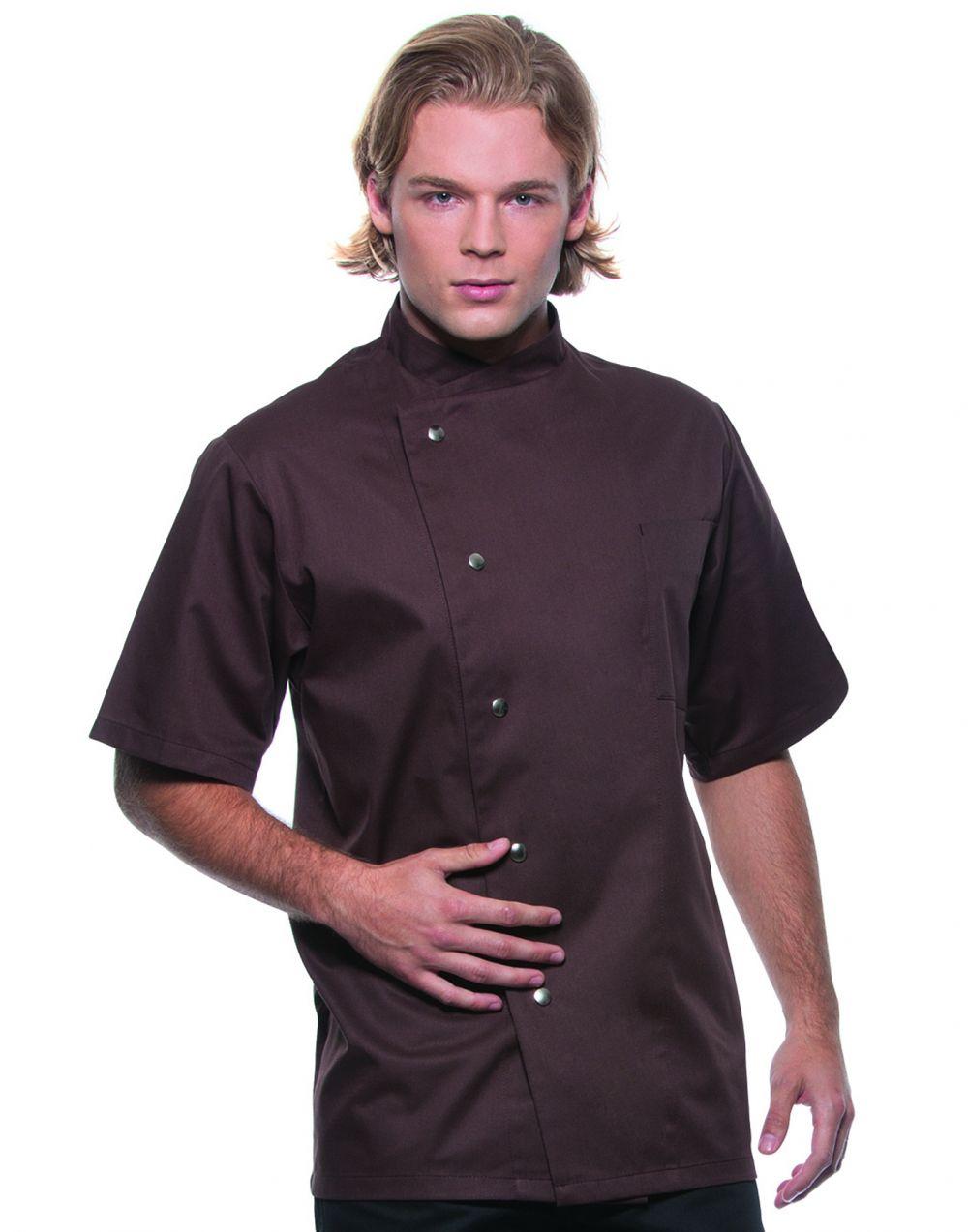 Chaquetillas de cocina karlowsky chef gustav manga corta para personalizar vista 1