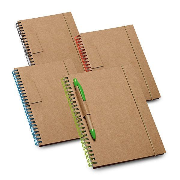 Cuadernos con anillas garden de cartón ecológico imagen 2
