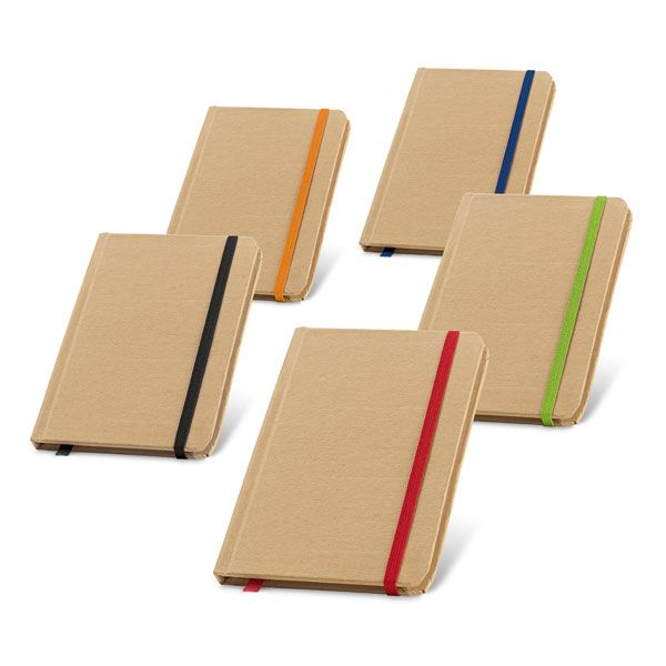 Libretas con banda elastica flaubert de cartón ecológico imagen 3