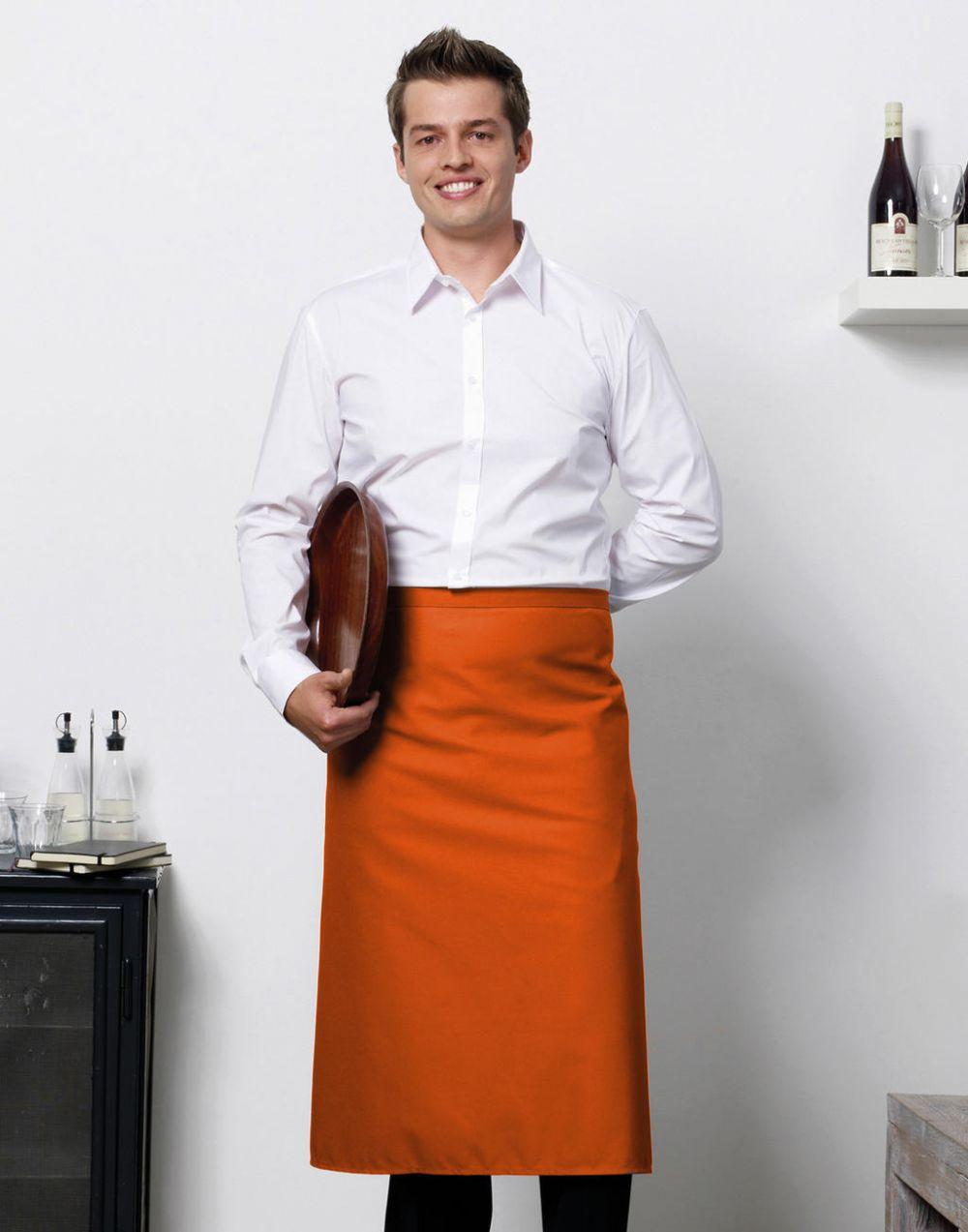 Delantales de hostelería bistro by jassz rome con logo imagen 1