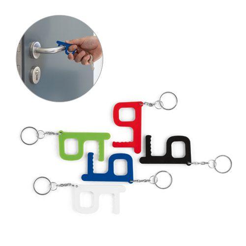 HANDY SAFE. Llavero multifunción tratamiento antibacteriano