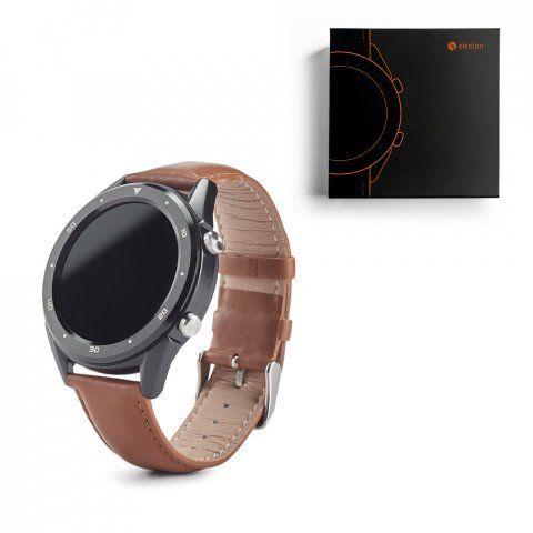 Relojes inteligentes ekston thiker ii de piel con impresión imagen 4