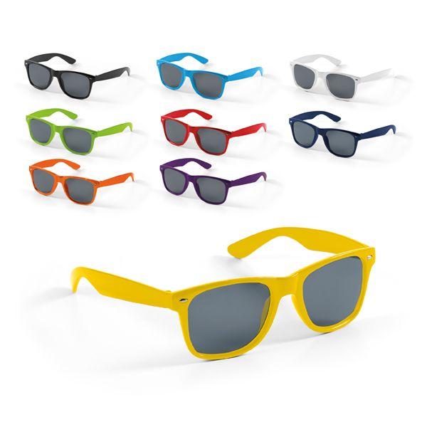 Manifestaciones celebes. gafas de sol de plástico con impresión vista 1