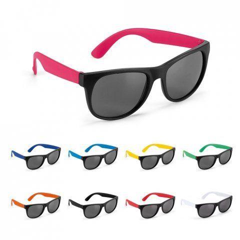 Gafas de sol personalizadas santorini de plástico con publicidad vista 4