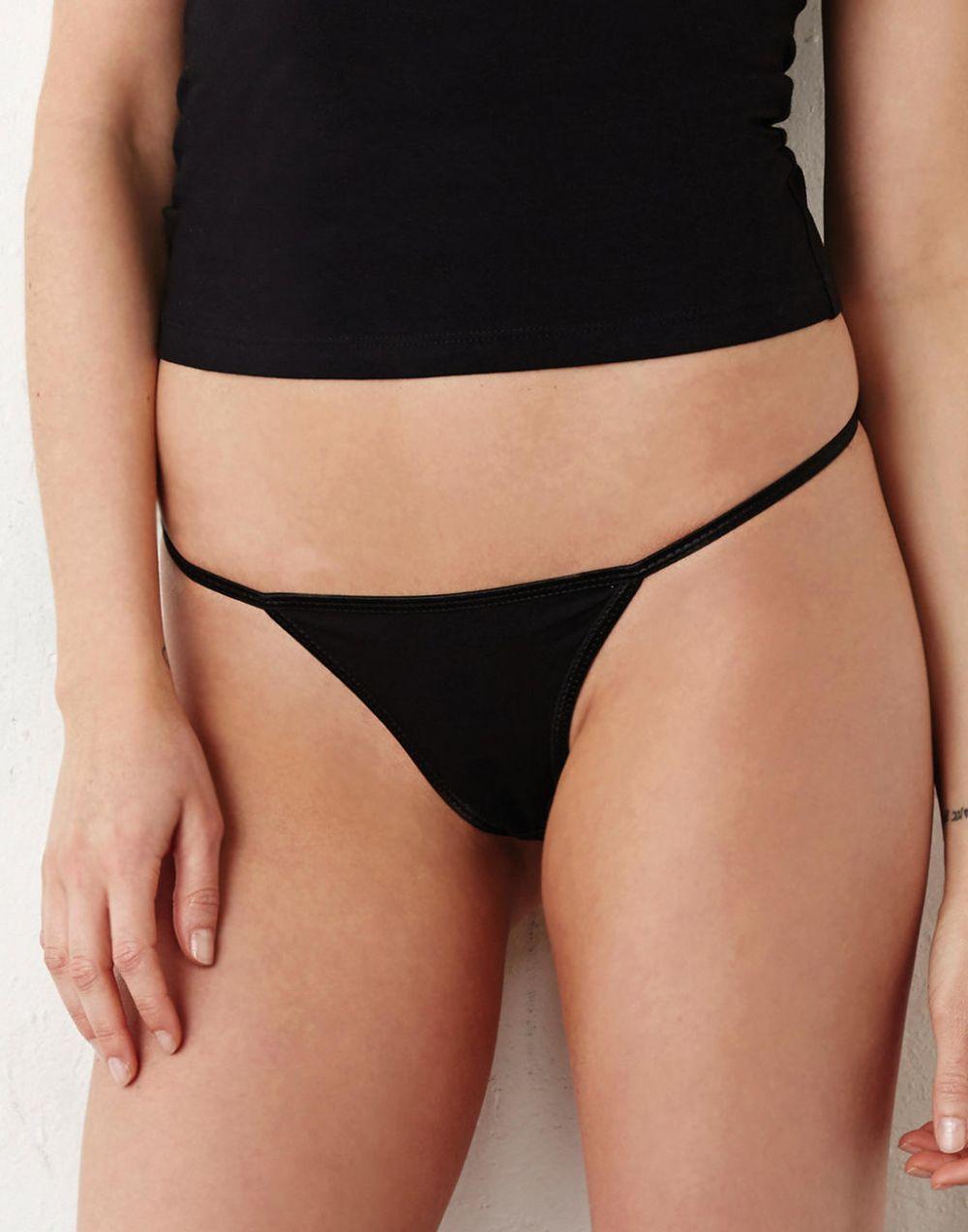 Underwear bella tanga algodón spandex mujer imagen 2