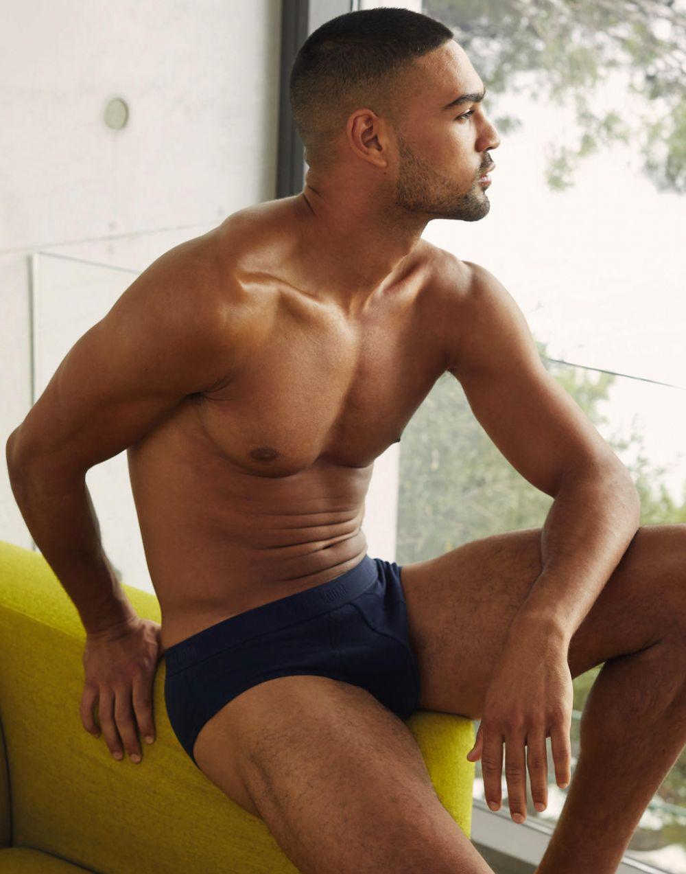 Underwear fruit of the loom slip sport (pack de 2) con publicidad vista 1