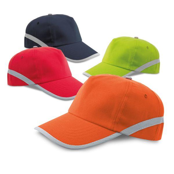 Gorras reflectantes jones de poliéster para personalizar vista 1