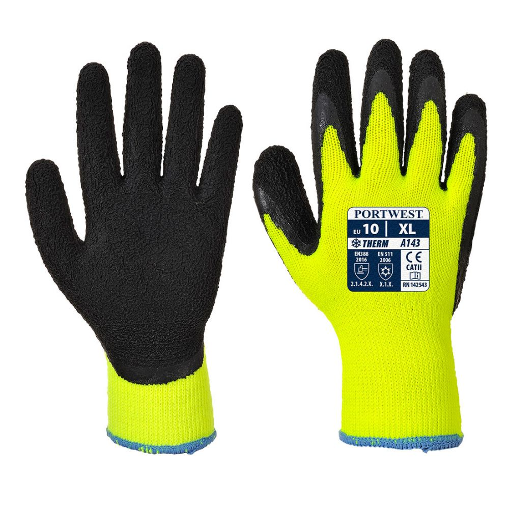 Guantes de trabajo thermal soft grip vista 1