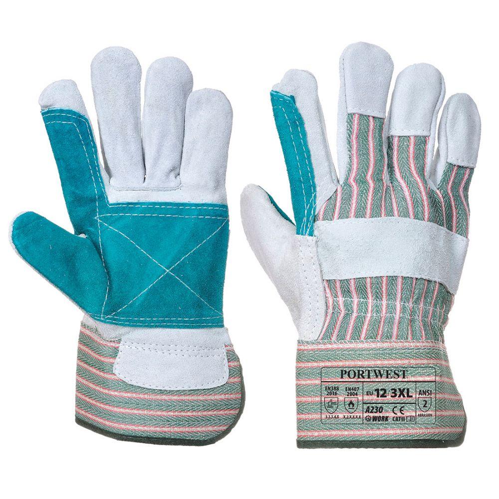 Guantes de trabajo rigger double palm para personalizar vista 1