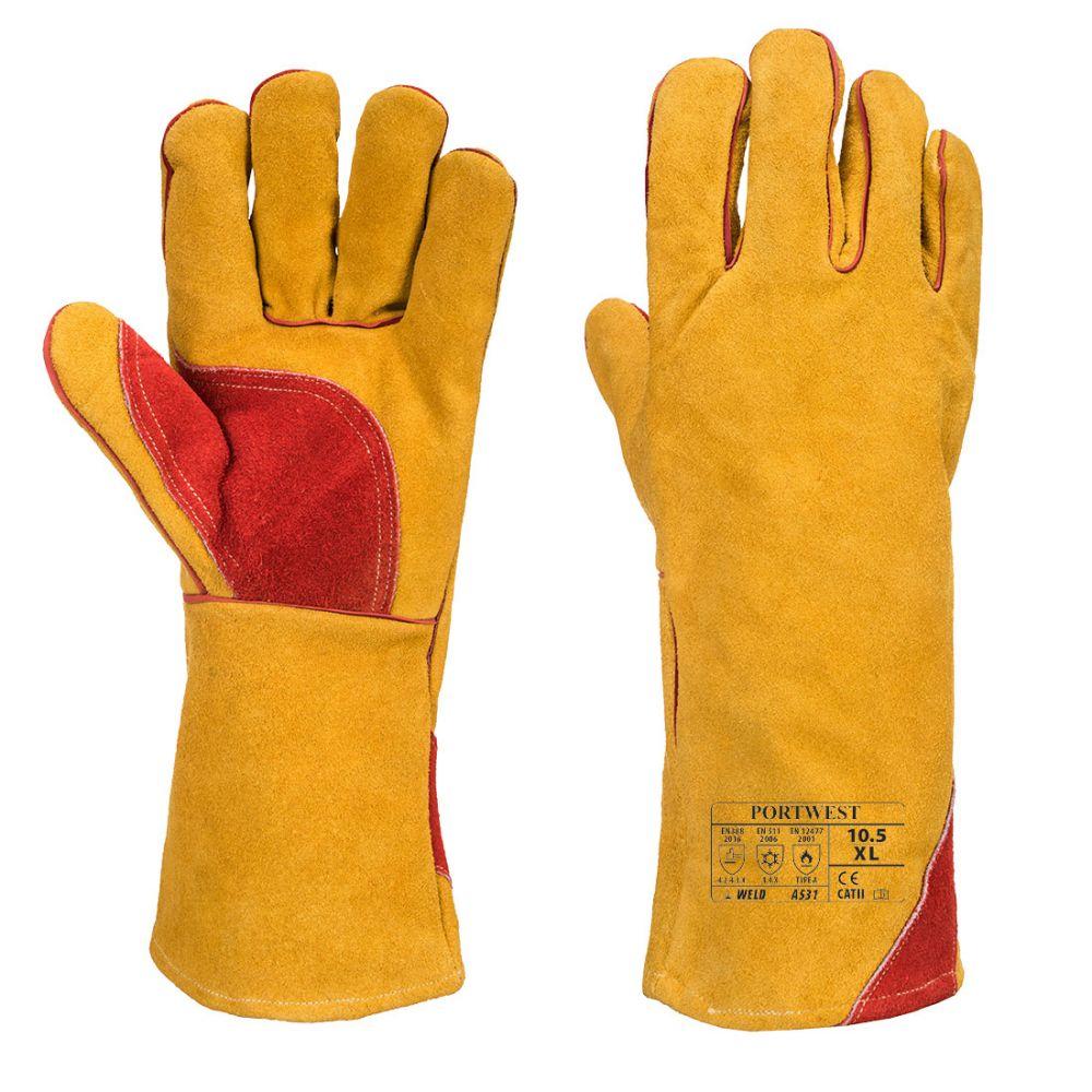 con doble capa de invierno HPHST C432CW de montaje resistentes al aceite para jardiner/ía t/érmicos Guantes de trabajo para hombre y mujer rojo y negro impermeables