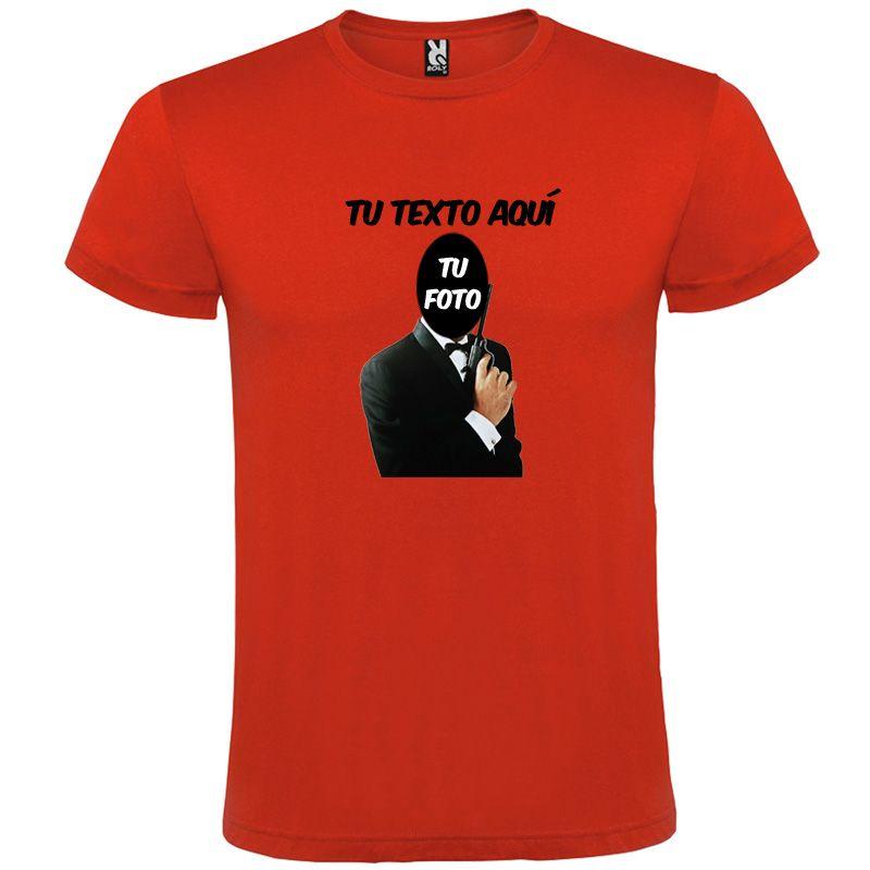 Camisetas despedida hombre despedida agente secreto 100% algodón para personalizar imagen 1