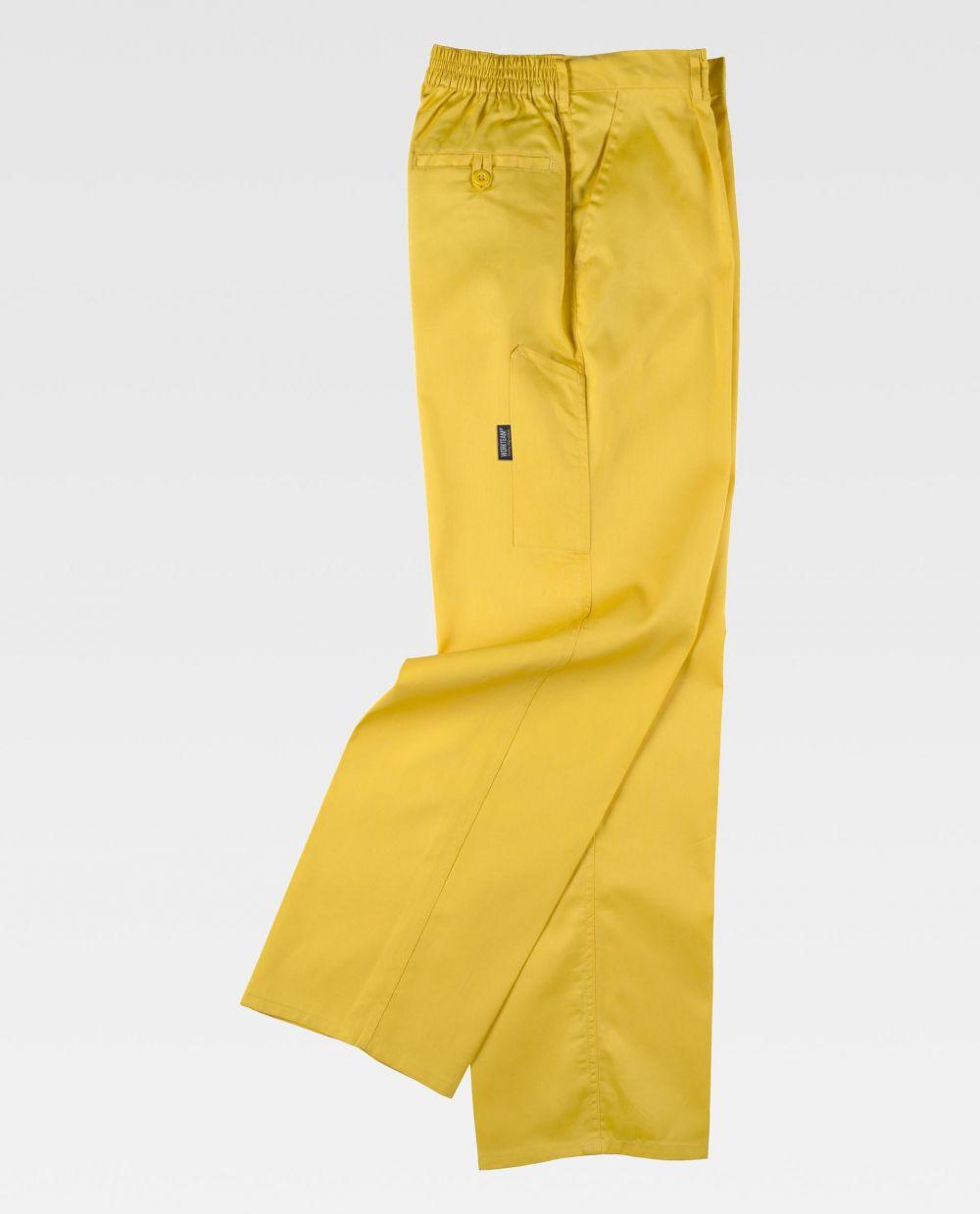 Pantalones de trabajo workteam b1402 de poliéster para personalizar vista 2
