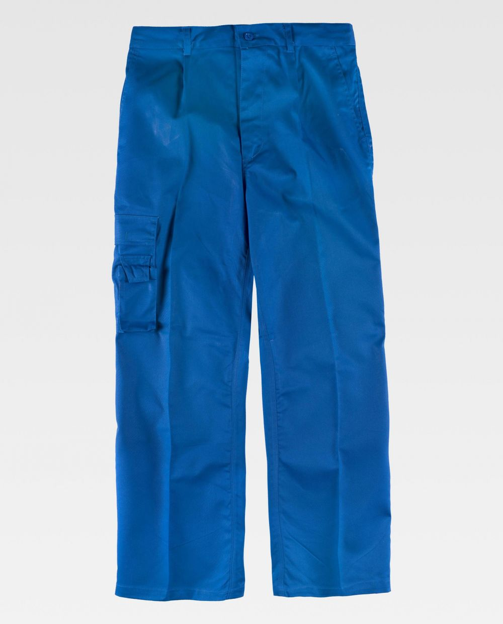 Pantalones de trabajo workteam b1409 de poliéster vista 2