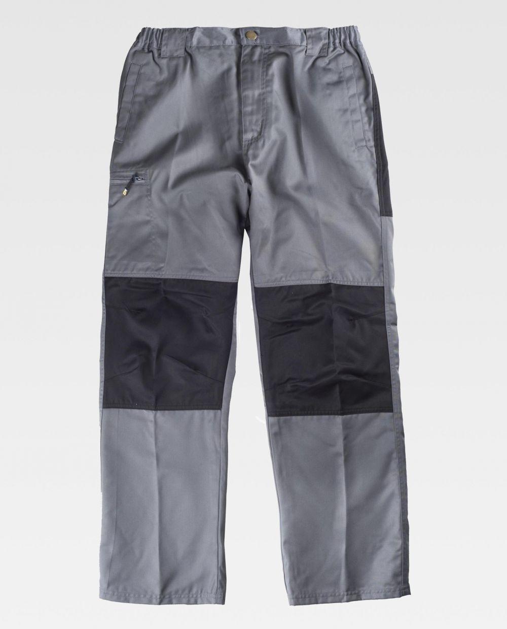 Pantalones de trabajo workteam b1411 de poliéster vista 1