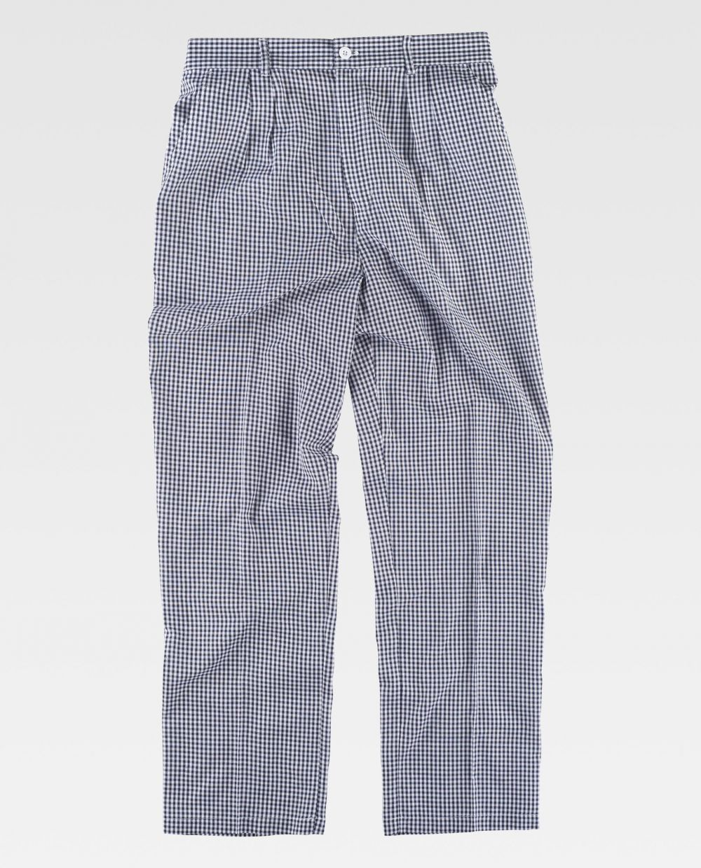 Pantalones de hostelería workteam b1425 de poliéster para personalizar vista 2