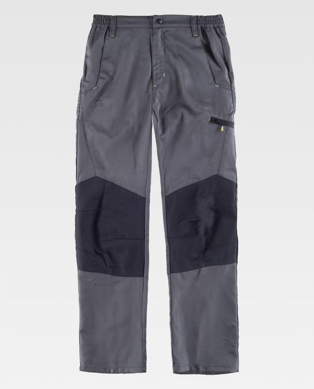 Pantalones de trabajo workteam b1460 de poliéster vista 1