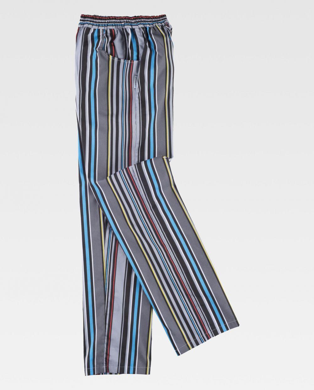 Pantalones de hostelería workteam b1508 de poliéster para personalizar vista 2