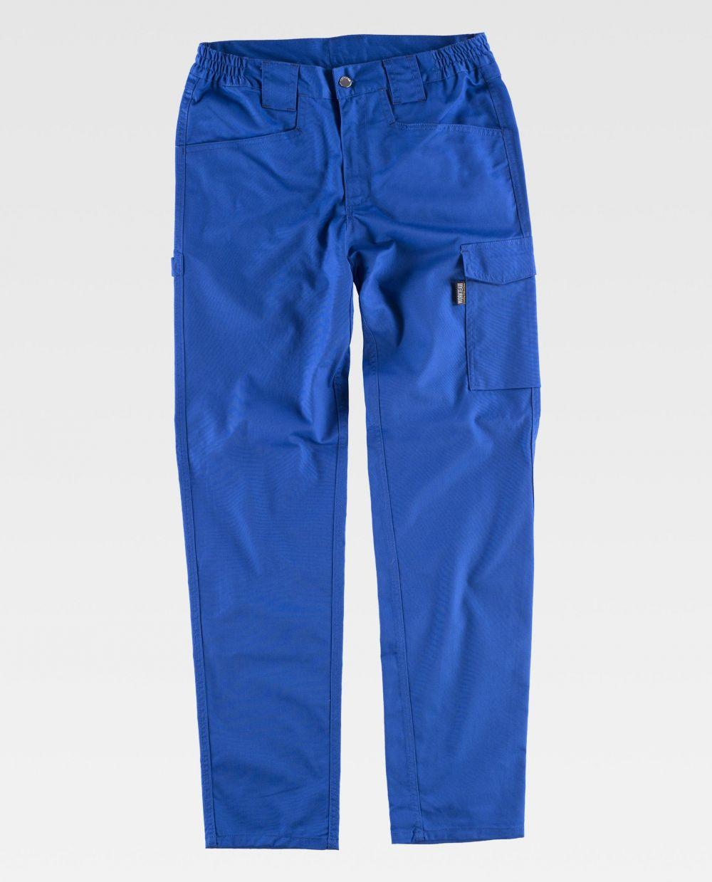 Pantalones de trabajo workteam b4030 de poliéster vista 1