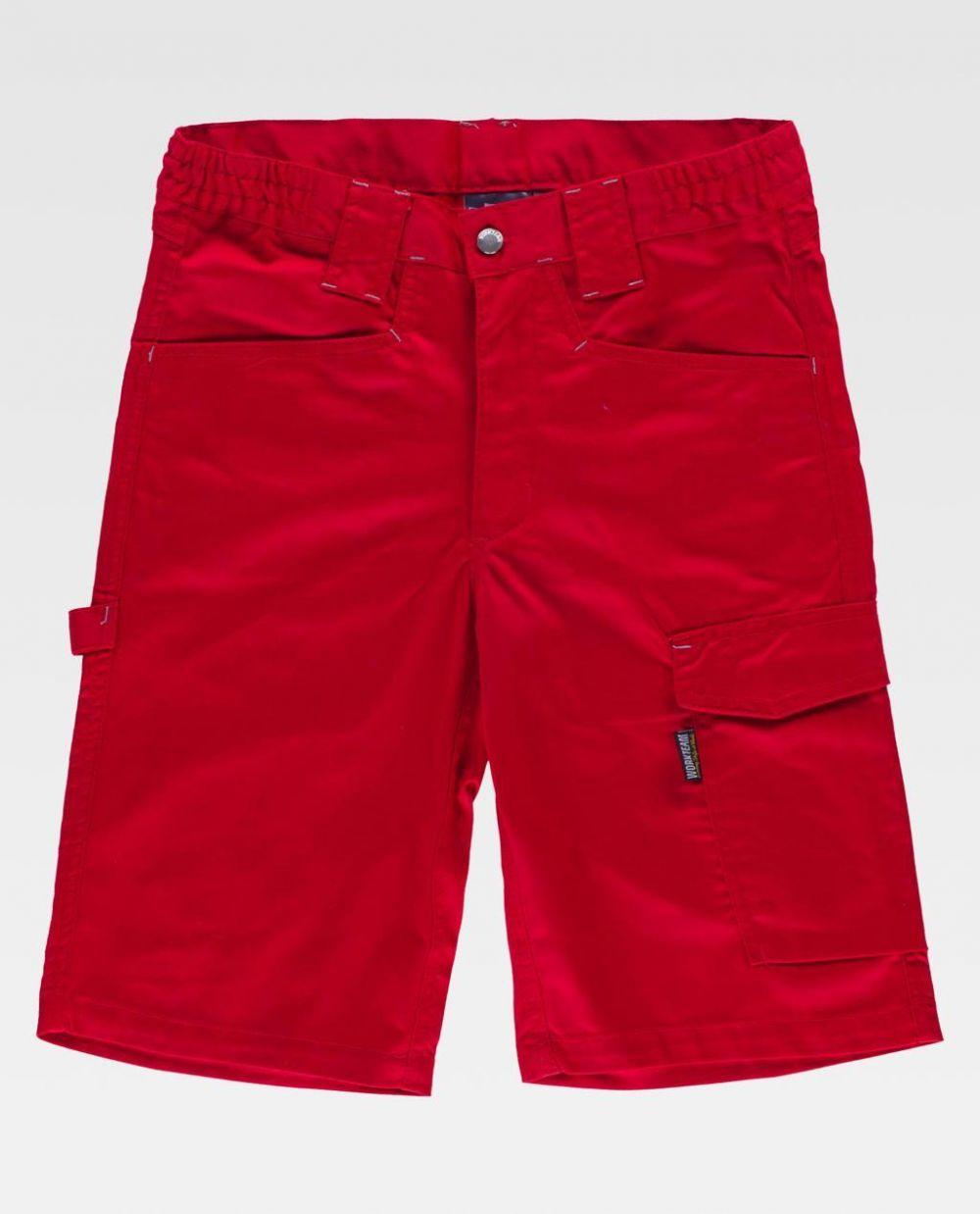 Pantalones de trabajo workteam básicos bidireccional de poliéster para personalizar vista 1