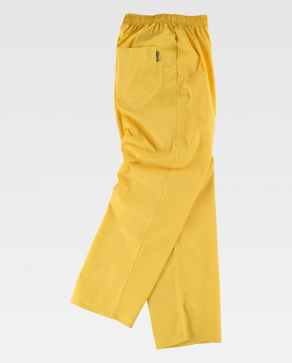 Pantalones de trabajo workteam b9300 de poliéster vista 2