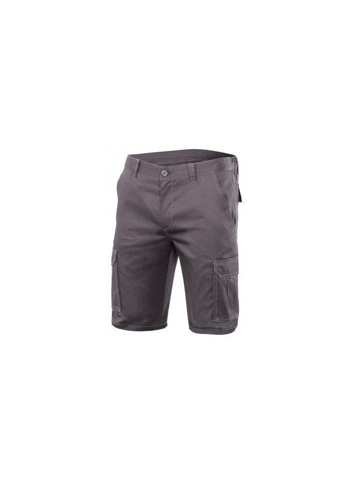 Pantalones de trabajo stretch multibolsillos 103009s de algodon con impresión vista 1